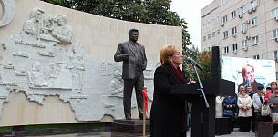 Торжественное открытие памятника академику С.Н. Фёдорову в Москве