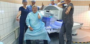 Новый фемтосекундный лазер установлен в нашей клинике!