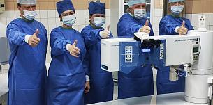 Лазер AMARIS 1050RS в МНТК «Микрохирургия глаза»